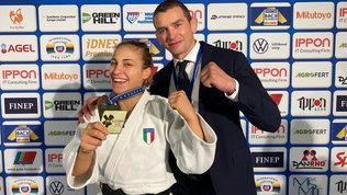 Odette Giuffrida trionfa a Praga, è campionessa d`Europa!