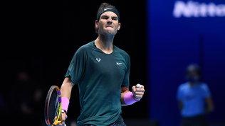 Nadal doma Tsitsipas e vola in semifinale, sconfitta indolore perThiem