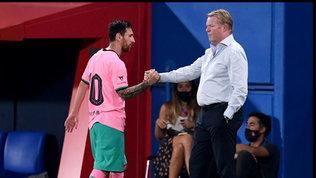 """Koemanquesta volta si schiera con Messi: """"Merita rispetto e spero che resti"""""""