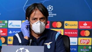 """Inzaghi: """"Immobile ha voglia di giocare, Luis Alberto ha fatto una cavolata"""""""