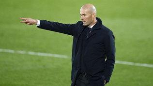 """Zidane lancia l'allarme: """"Troppe partite, temo per la salute dei giocatori"""""""