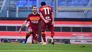Mayoral e super Mkhitaryan: la Roma diverte e cala il tris al Parma