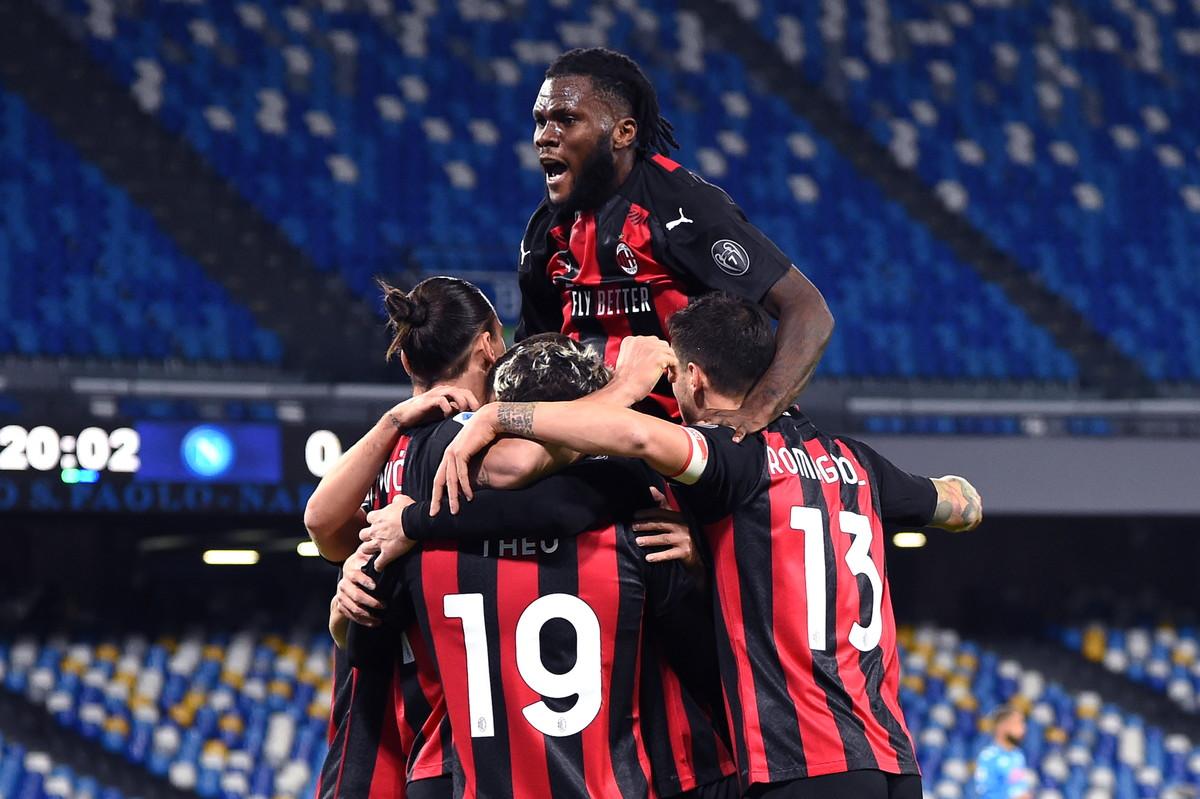 Napoli-Milan 1-3, i migliori scatti.<br /><br />