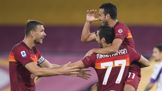 Fonseca si gode Mkhitaryan e ritrova Dzeko: negativo al Covid