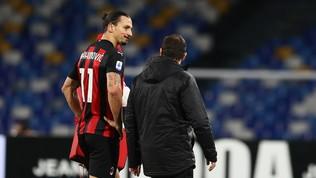 Milan, lesione al bicipite femorale per Ibrahimovic