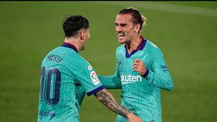 """Griezmannchiude la polemica con Messi: """"Mi ha detto che è con me fino alla morte"""""""