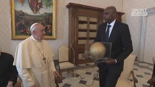 La Nba da Papa Francesco