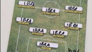 La Top 11 di Ibrahimovic? Facile:tutti Ibra, tecnico compreso