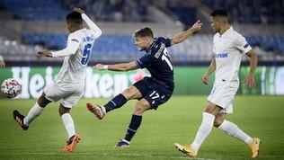 Immobile fa fuori lo Zenit: Lazio, gli ottavi sono a un passo