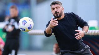 """Gattuso attacca: """"Non ho litigato non la squadra. Si pensa a 130 punti"""""""