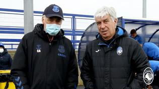 Atalanta, alla rifinitura arriva Carlo Ancelotti