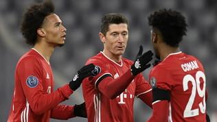 Bayern e City agli ottavi, pari Atletico, tris Ajax e poker 'Gladbach
