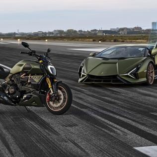 Una Siàn FKP 37 a due ruote: ecco il Diavel 1260 Lamborghini