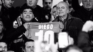 """AdL scrive a Diego: """"Giusto intitolarti il S. Paolo per averti ancora con noi"""""""