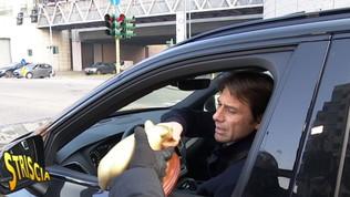 """Tapiro d'Oro a Conte: """"Se non mangerò il panettone sarà perché non l'avrò meritato"""""""