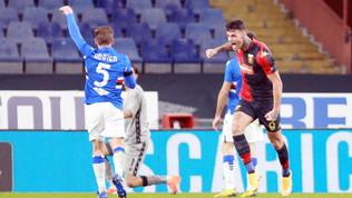 Il Genoa vince il derby e si regala la Juve. Avanza anche il Toro