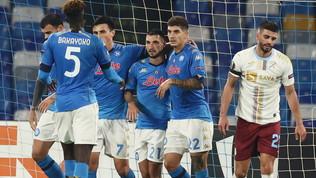 Nella notte di Maradona il Napoli non sbaglia: Rijeka steso e primo posto