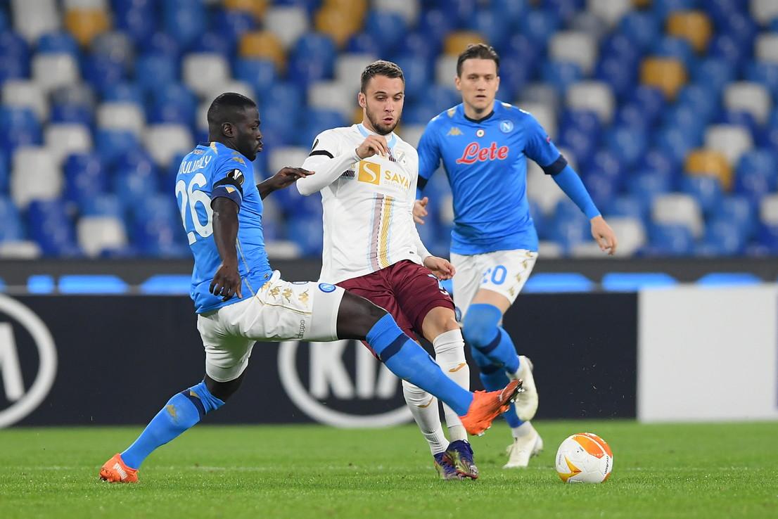 Napoli-Rijeka 2-0, le migliori foto del match.<br /><br />
