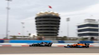 F1, il Bahrain apre l'ultima tripletta