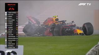 Albon, che botto! Red Bull distrutta