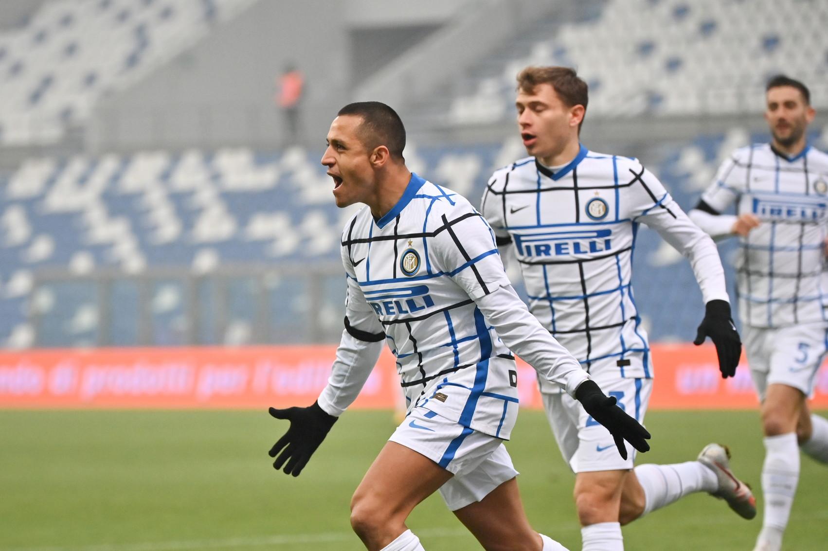 Sassuolo-Inter 0-3, le migliori immagini del match del Mapei Stadium.<br /><br />