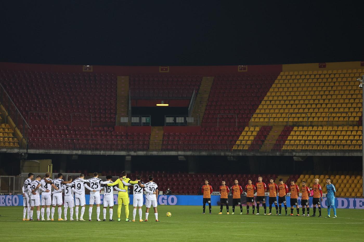 Benevento-Juventus 1-1, le migliori foto del match.<br /><br />