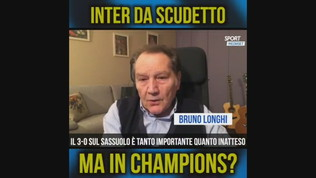 """Longhi: """"Inter da scudetto, ma in Champions?"""""""