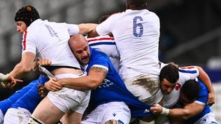 Francia-Italia 36-5, gli scatti del match