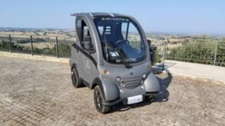 Da Ancona la prima minicar elettrica made in Italy