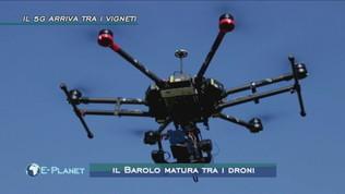 Il Barolo matura tra i droni