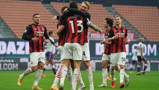 Milan-Fiorentina: le foto del match