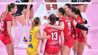 UYBA e Cuneo tornano alla vittoria, tutto facile per Chieri