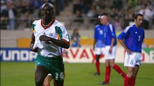 Senegal, addio aBouba Diop, stese la Francia campione ai Mondiali 2002