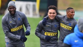 All'Inter torna il sereno:quanti sorrisi nella rifinitura pre 'Gladbach