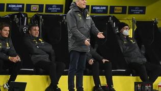 """Favre: """"Dopo il ko con la Lazio siamo cambiati: ora è un Dortmund diverso"""""""