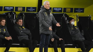 """Favre: """"Dopo il ko con la Lazio siamo cambiati, ora è un Dortmund diverso"""""""