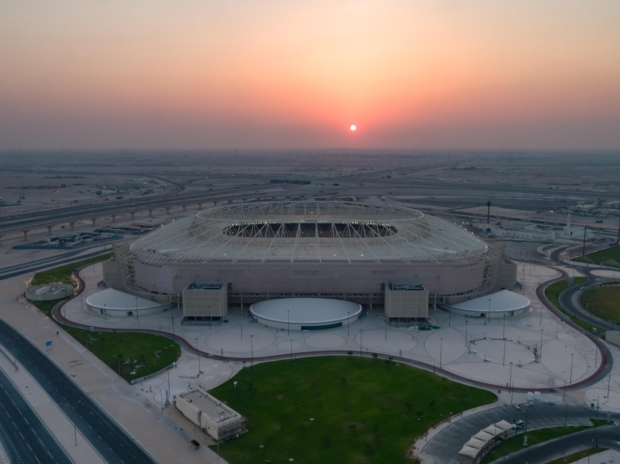 L&#39;Al Rayyan&nbsp;Stadium verr&agrave; inaugurato il 18 dicembre a due anni di distanza esatti dalla rassegna mondiale ed &egrave; il quarto impianto pronto con 40mila posti a sedere<br /><br />