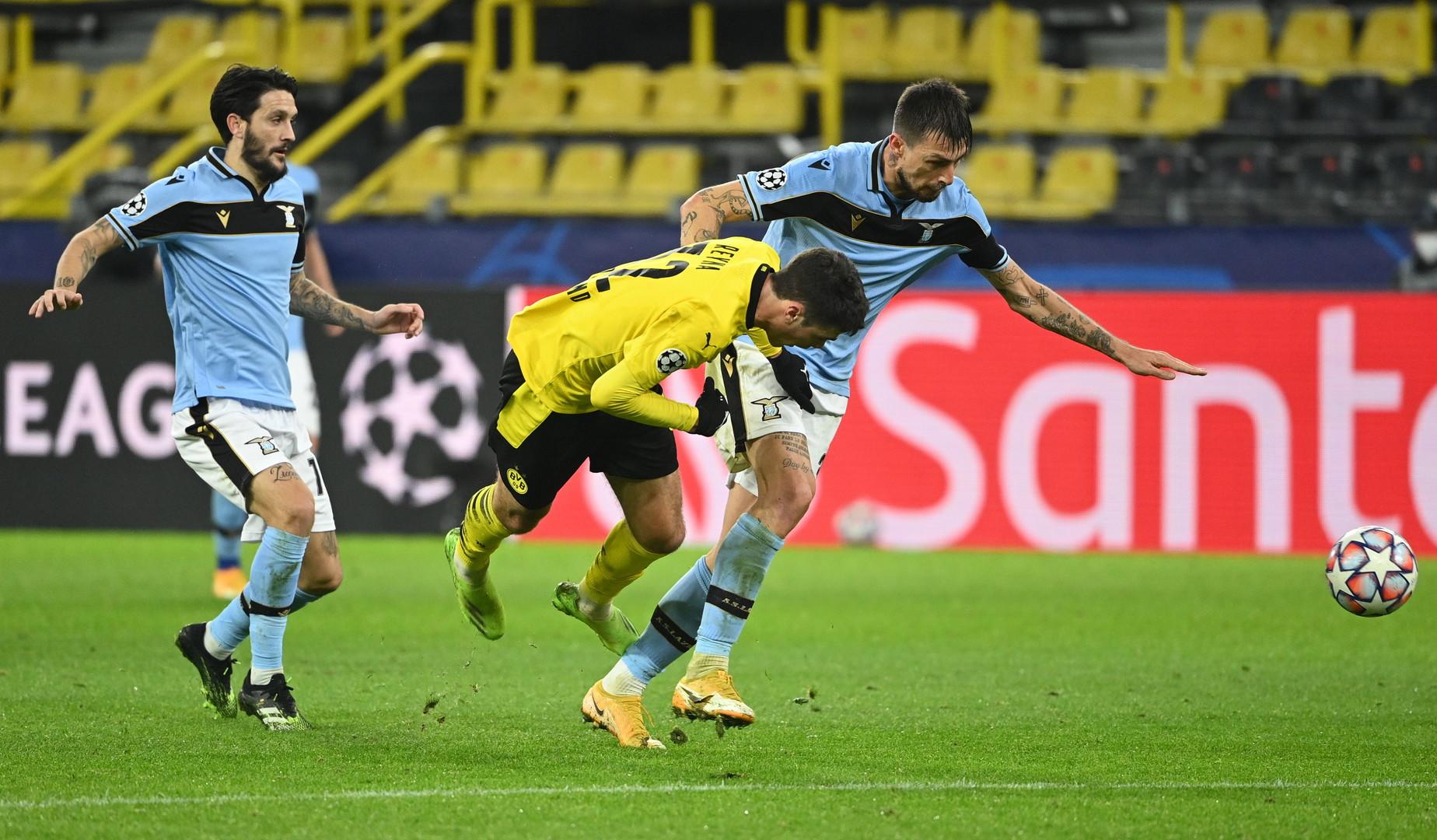 LIVE Borussia Dortmund Lazio Formazioni ufficiali e Risultato LIVE