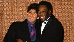 """Maradona,Pelé: """"Amico Diego hai insegnato a dire ti amo"""""""