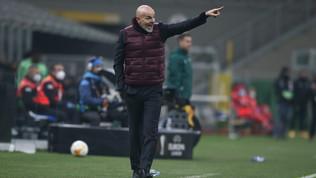 """Pioli: """"Domenica niente Ibra. Juve, Inter e Napoli più forti, ma..."""""""