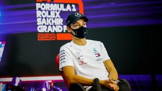 """Russell: """"Sto imparando tanto"""". Verstappen: """"Pista stretta e complicata"""""""