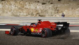 """Vettel: """"Pista troppo corta"""".Leclerc: """"Tutto bene, poi la rottura"""""""