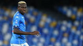Osimhen adesso preoccupa: niente Crotone, salta anche l'Inter