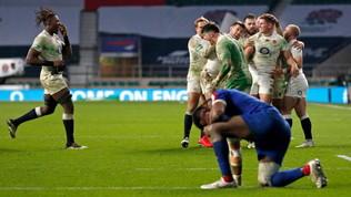 L'Inghilterra si salva ai supplementari e vince il torneo: la Francia cade 22-19