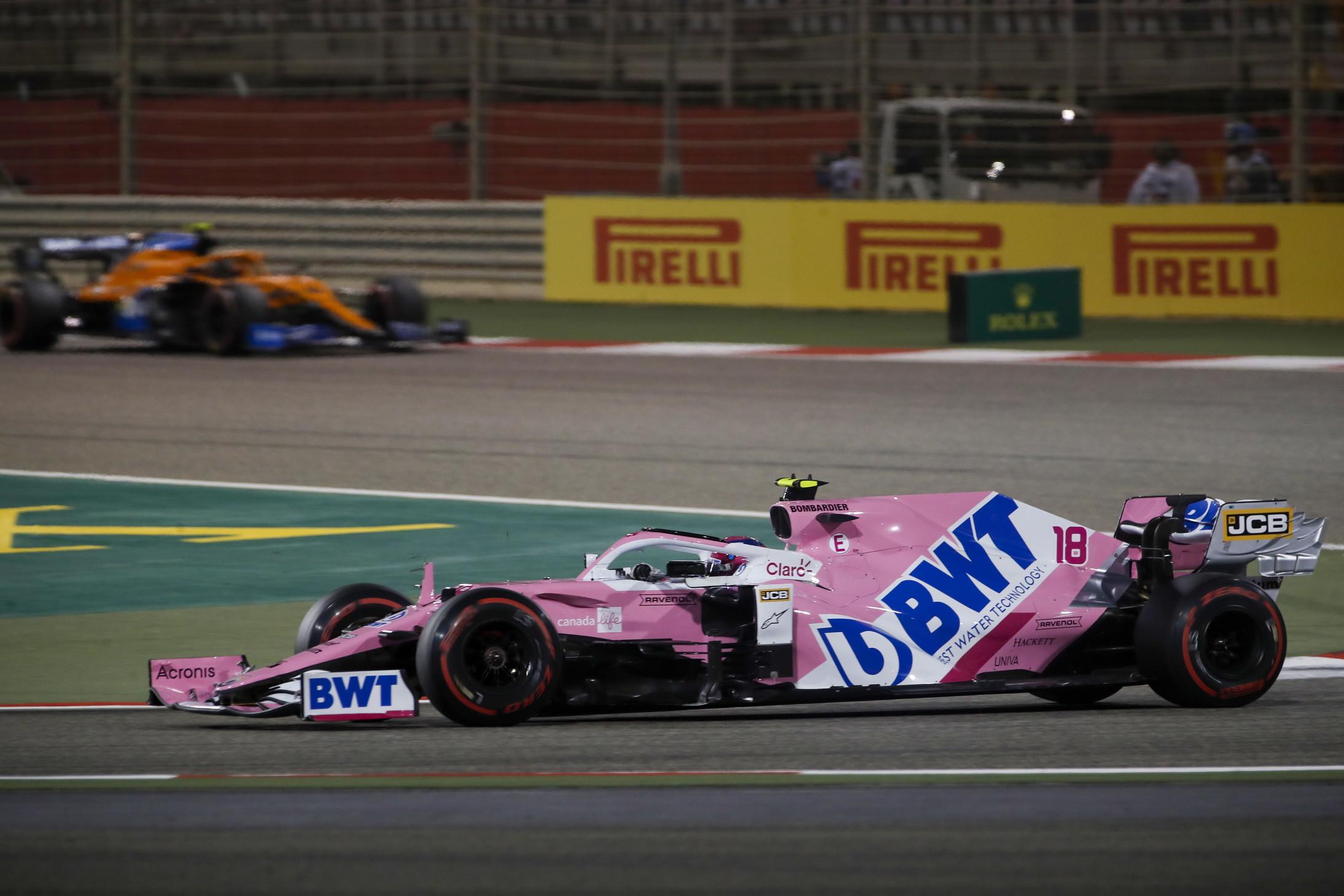 Il messicano conquista il primo successo in carriera in F1 al termine di una gara ricca di emozioni nel GP di Sakhir dopo il contatto con Leclerc<br /><br />