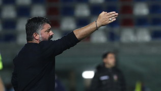 """Gattuso: """"Bravi, ma risultato bugiardo. Con Real Sociedadci giochiamo tanto"""""""