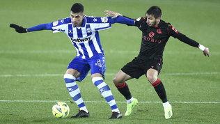 La Real Sociedadregala la vetta all'Atletico: solo un pari con l'Alaves