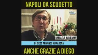 """Auriemma: """"Napoli da scudetto anche grazie a Diego"""""""