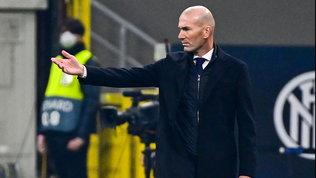"""Zidane: """"Tre punti e primo posto: non penso ad altro. Tantomeno all'esonero"""""""
