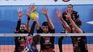 Perugia cade in Champions: il derby italiano va a Civitanova